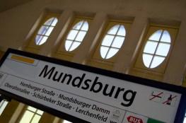 S-Bahn Mundsburg (Foto: Sebastian-Thies Hinrichsen)