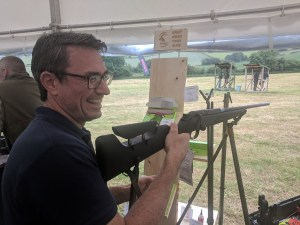 David Wright from Fieldsports Channel at a Fieldsports Skills Day