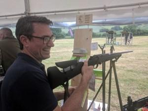 David Wright from Fieldsports Channel at a Fieldsports Skills Day