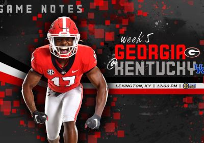 UGA Football: Game Notes – Georgia Back On The Road, Faces ...