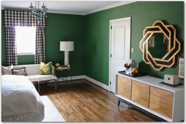 emerald green bedroom paint colors a quiz on color commitment { It's Emerald City in blogland.} - Fieldstone Hill Design