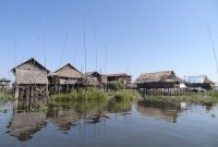 Floating villages and gardens of Inle Lake
