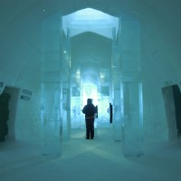 Cyclical design at the Icehotel