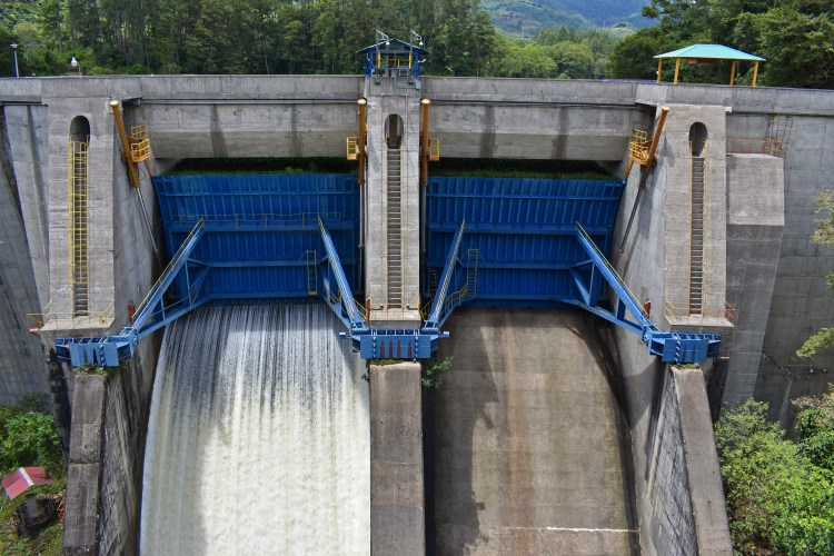 Approximately 70% of electricity produced in Costa Rica comes from hydroelectric plants.
