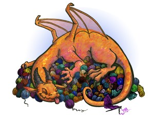 Yarn Hoarding Dragon