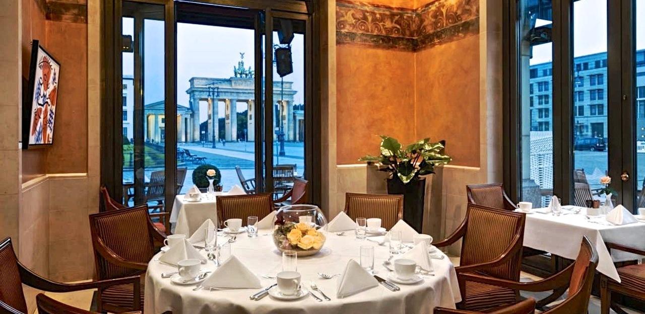 Das Restaurant Esszimmer adelt das Hotel Adlon  BISS