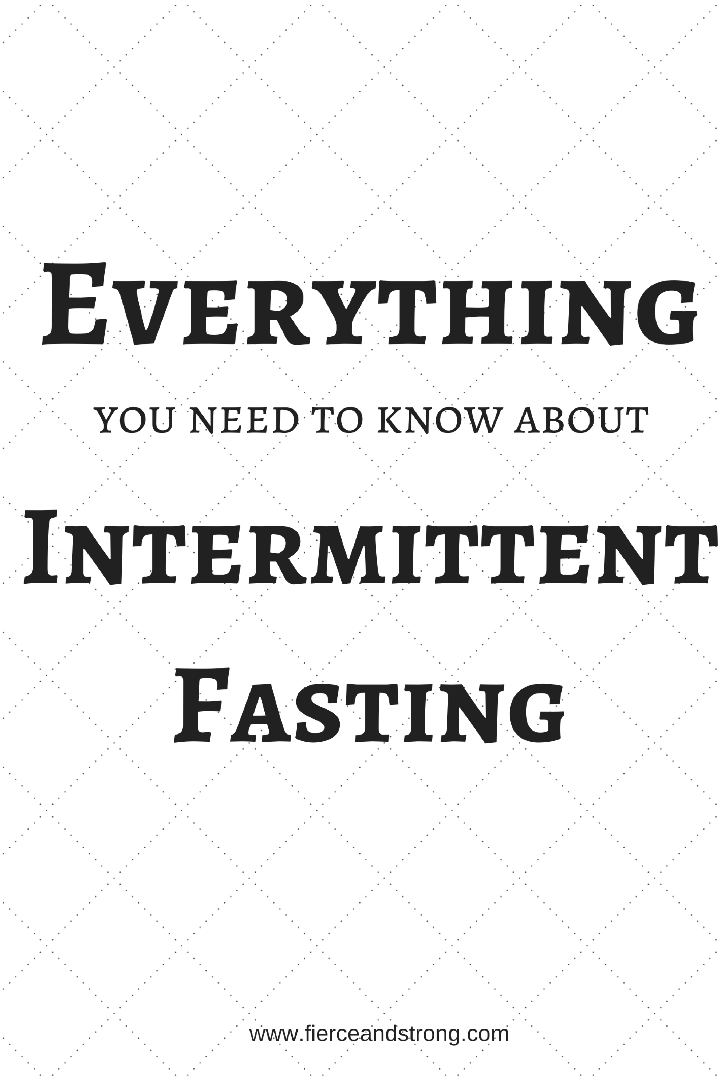 intermittent fasting