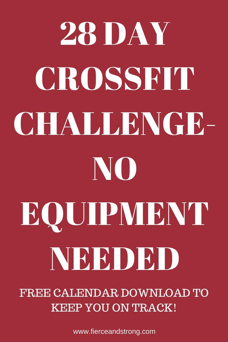 crossfit challenge