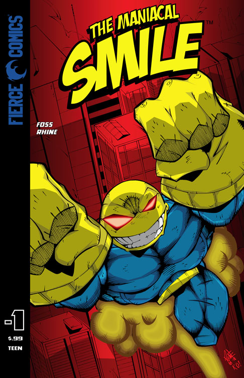 FIERCE COMICS  THE Maniacal Smile Minus 1 Issue