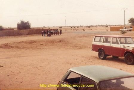 La douane de Tamanraset.