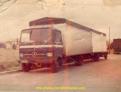 Les 2 premiers camions IOCHUM, Mercedes LP
