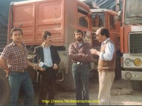 Au Niger avec Jean-Loup Gauthier et Antoine Boudard, un des pionnier du Moyen Orient, ancien de la SATI.