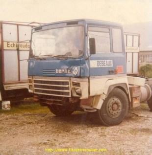 Berliet TR280 Transports TLR