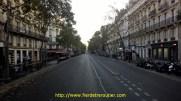 La circulation infernale dans Paris...