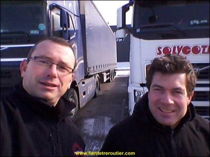 Dans le froidure de Belfort avec SAMU