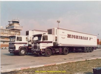 Scania 141 et Scania 142 Mighirian