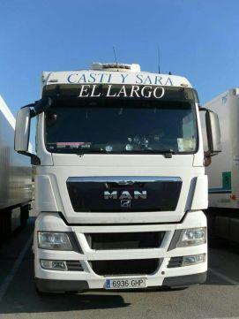 El camión de Juan Manuel Rueda Garcia
