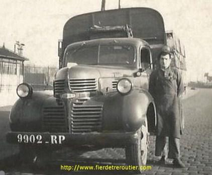 papa en 1947