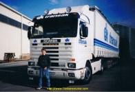 Hervé mon beau-fils devant mon 143.500 en 1994.