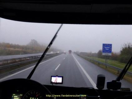 arrivée frontière Polonaise à Görlitz