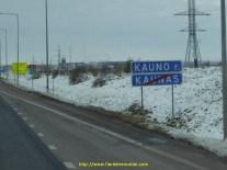 Kauno, Kaunas, on s'y perd