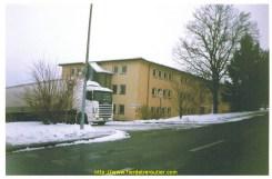 Mon Scania 144 devant les casernes US de mon papa à Zweibrucken