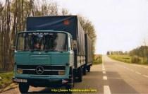 Mon 1er camion remorque, un MB1113B