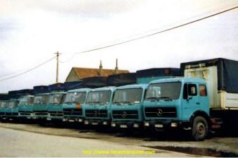 La flotte Altrans en 1980