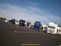 BP TRÄNS au Stand Scania du Castellet