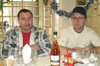 Mon autre collègue Denis et Jean-Pierre