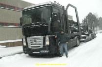 Pris dans une tempète de neige en Allemagne, AE480