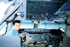 ...Et curieux au point de monter à bord du 747