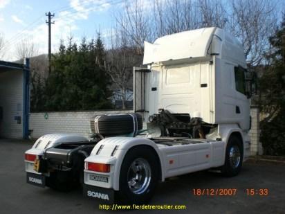 le Scania R 620 flambant neuf ...