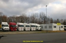 partie du parc V.O. Scania