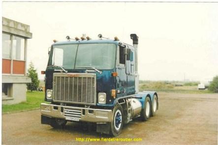 Ce camion motorisé avec un V8 a commencé sa carrière en roulant pour la TAF...
