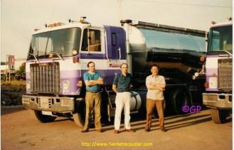 Gaby en compagnie de Dany Wauthier et Astro 51.
