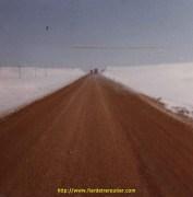 les routes de Turquie en sable et boue