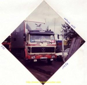 """Denis a participé à l'opération """"SAHEL84"""" où il a connu Max Meynier. Le mercedes """"Sahel"""" conduit par Denis faisait 220 ch"""