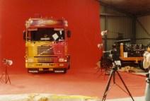 La Gitane a la fondation Berliet lors de la preparation du poster France route