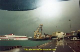 Le port de Patras (GR)
