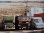 Attente du bateau à DOUVRES MAI 1986