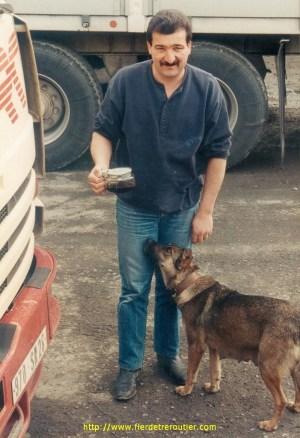 Jean-Paul, transports Chatain à Istambul.