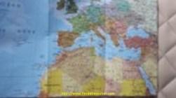 Encore une fois, on a sorti la carte du monde
