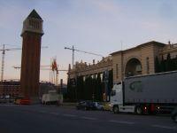 Place d'Espagne à Barcelone