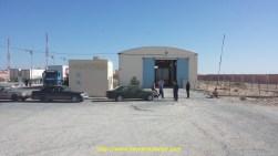 La douane entre le Maroc et la Mauritanie et la vraie aventure commence
