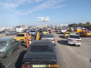 Une circulation hallucinante, il faut avoir les yeux partout, encore pire que la Turquie !!!