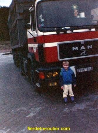 L'arrivée des F90, des camions au top a la fin des années 80...