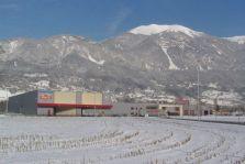 Site de Bonneville sous la neige