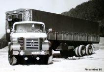 BERLIET TLM Mon premier camion à 18 ans début 1972