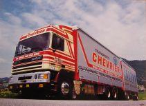 Camion remorque en version 6x2 abandonnée pour la version 4x2 comme suit